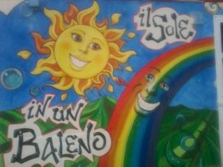 il sole in un baleno